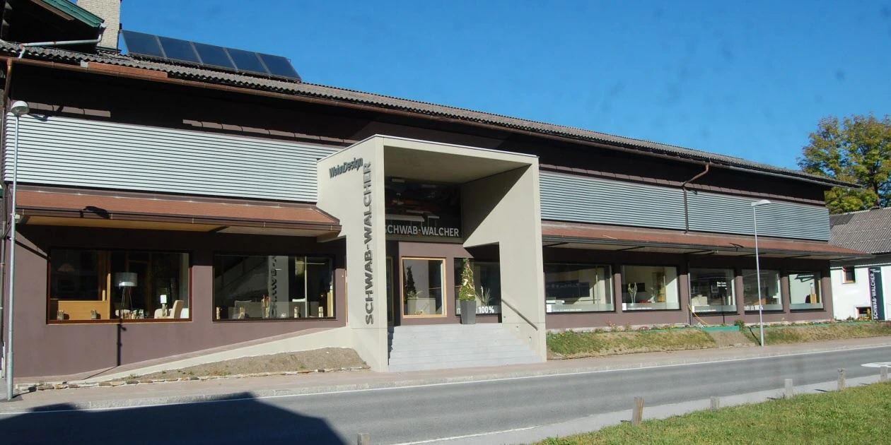 Möbelhaus Schwab-Walcher Schladming - Außenaufnahme