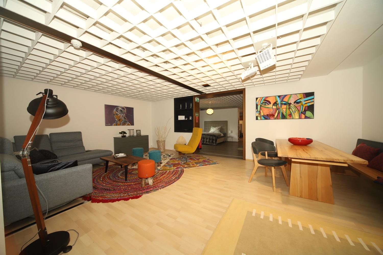 Wohn-Essbereich bei Schwab-Walcher Wohndesign