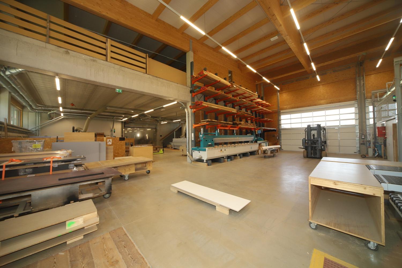 Moderne Tischlerei Werkstatt in Schladming