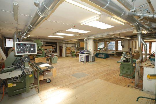 Der ältere Teil der Werkstatt